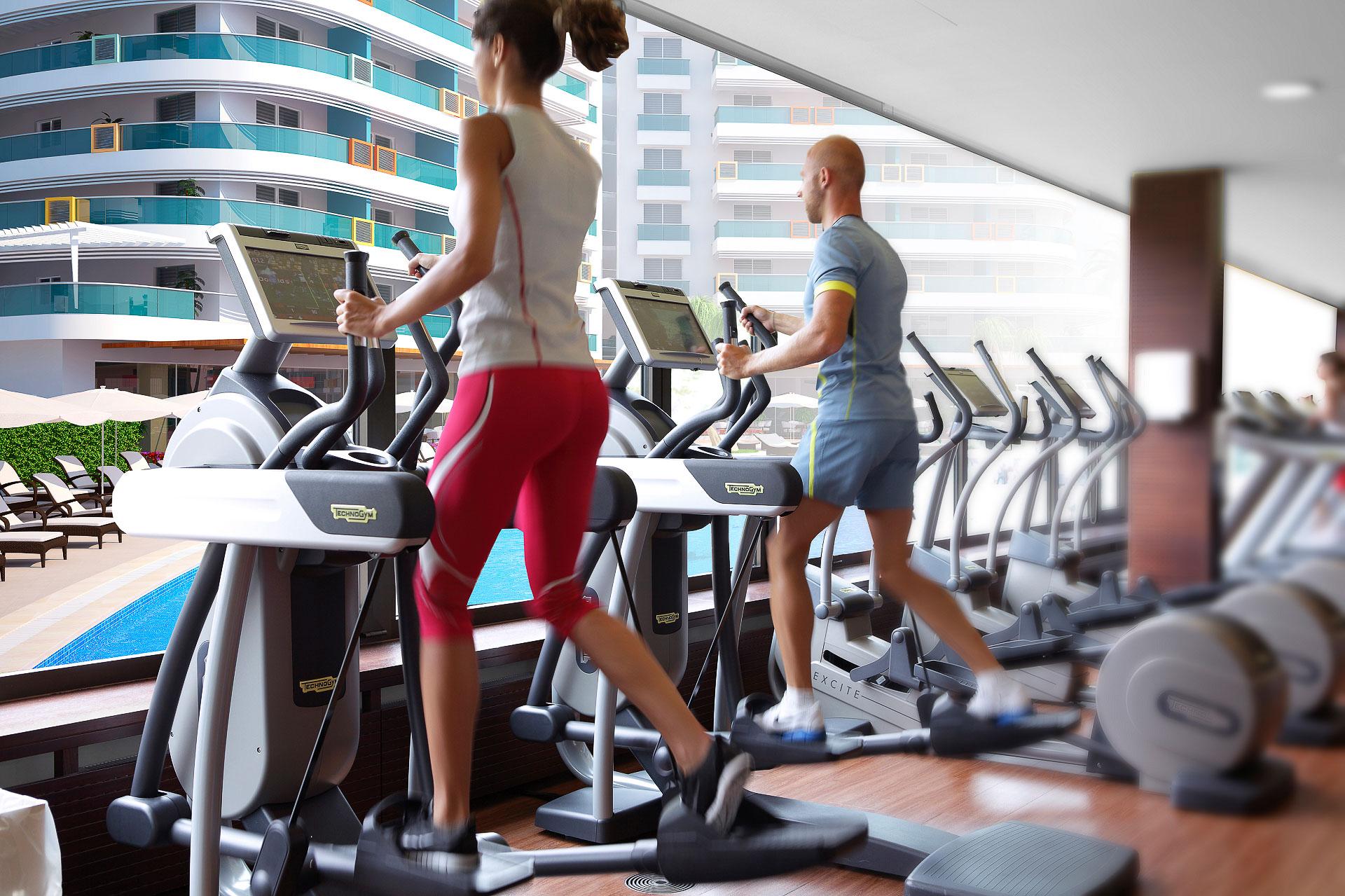 Park Residence Fitness-senter
