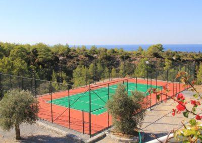 Her kan man spille tennis