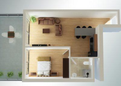 1 soveroms med stor balkong (2)