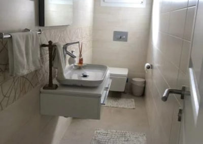 Toilett i 1.etg