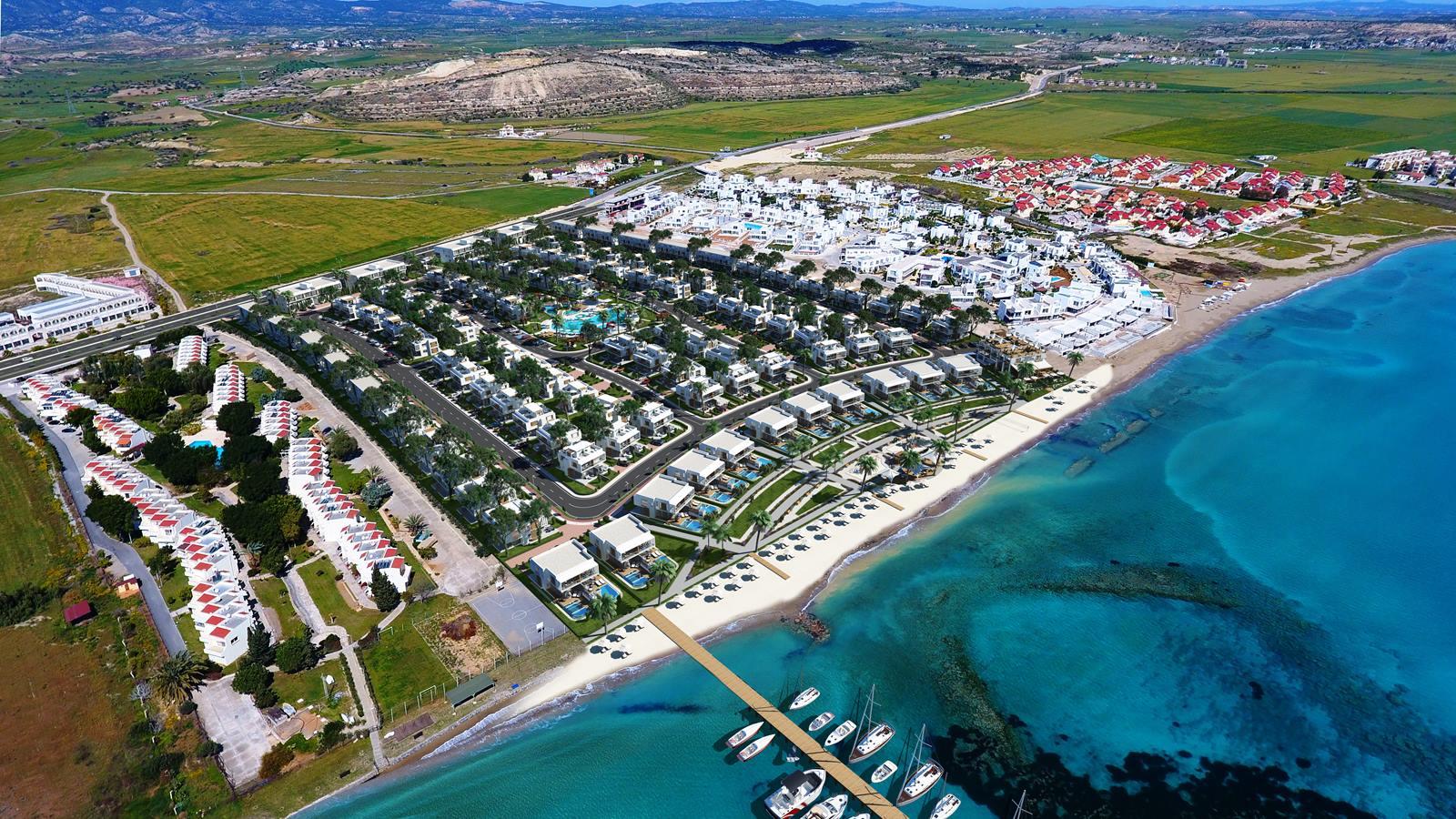 Four Seasons Life, Iskele, Middelhavet, feriebolig, strand, sol, Long Beach, pool, basseng, restaurant, vannsklie, Bogaz