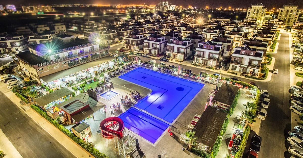 Nord-Kypros, Royal Sun Residence, strand, basseng, restaurant, ferie, sol