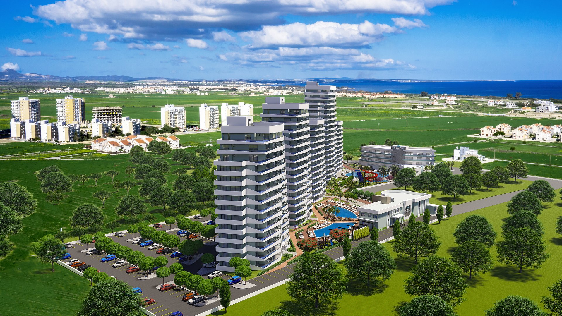 Sky Deluxia Life, Caesar Resort, Middelhavet, feriebolig, strand, sol
